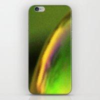 Golden green iPhone & iPod Skin