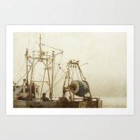 Misty Mae Art Print