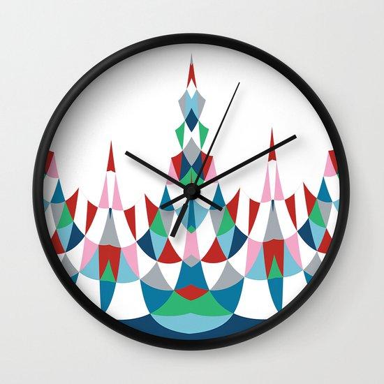 Modern Day #4 Wall Clock