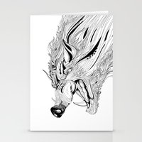 Boar Stationery Cards