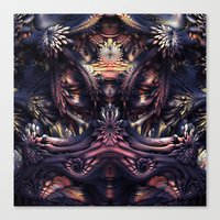 Homage To H.R. Giger Canvas Print