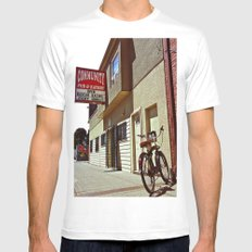 Community Pub & Eatery White SMALL Mens Fitted Tee