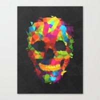 Meduzzle: Colorful Geome… Canvas Print