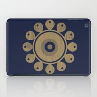 Wooden Flower iPad Case