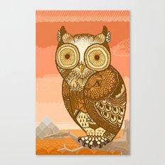 Owlie in Autumn Canvas Print