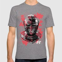 ARMOUR HELMET Mens Fitted Tee Tri-Grey SMALL