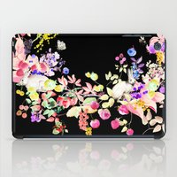 Soft Bunnies black iPad Case