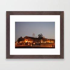 Historic Hotel Congress Framed Art Print