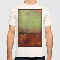 Explore Mens Fitted Tee Natural SMALL