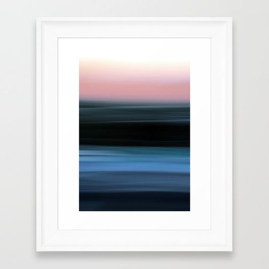 Time in Motion Framed Art Print