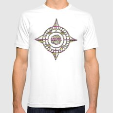 Eye Candy II White SMALL Mens Fitted Tee