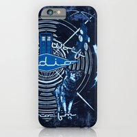 iPhone & iPod Case featuring Bad Wolf Radio by Buzatron