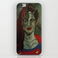 Gaze Of Steel iPhone & iPod Skin