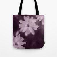 Magnolia dance (purple) Tote Bag