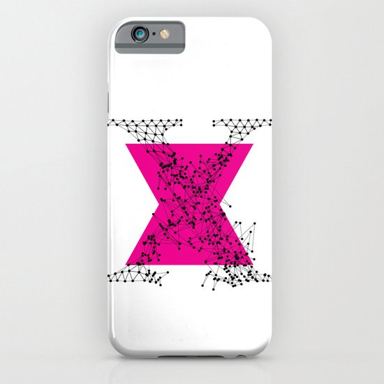 X (abstract geometrical type) iPhone & iPod Case