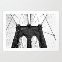 Brooklyn Web II Art Print