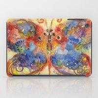 Astrazioni su ali di farfalla iPad Case