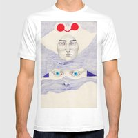 Deception  Mens Fitted Tee White SMALL