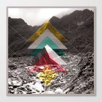 Sojourn Series - Fox Gla… Canvas Print