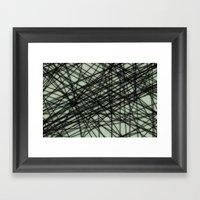 Theory III Framed Art Print