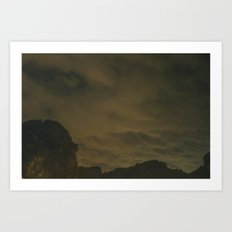 Railay Bay Thailand Art Print