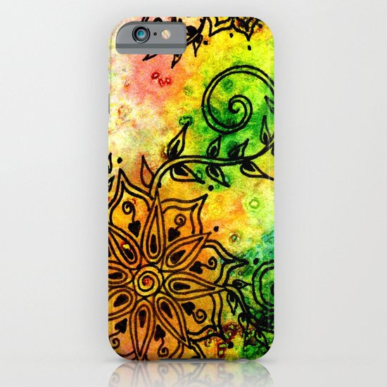 Henna Fantasia iPhone & iPod Case