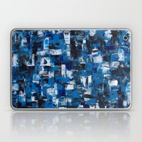 Blue Blade Painting Laptop & iPad Skin