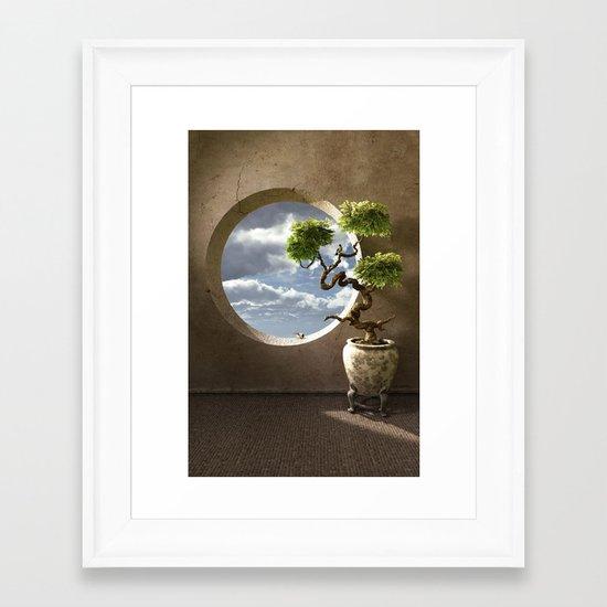 Haiku Framed Art Print