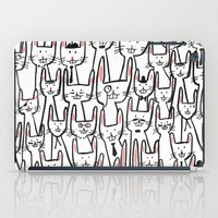 Bunny family iPad Case