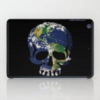 Skull Earth iPad Case