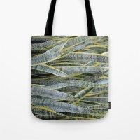Snake Plants Tote Bag