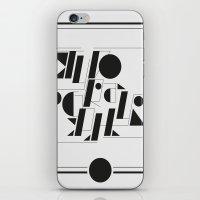 Typography iPhone & iPod Skin