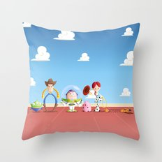 TOY STORY Throw Pillow