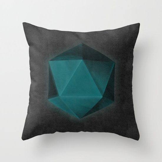 spatial geometry Throw Pillow
