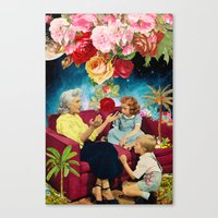 Gardening Stories 1 Canvas Print