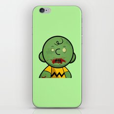 Zombie Charlie Brown iPhone & iPod Skin