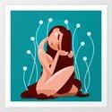 Bliss & Serenity Art Print