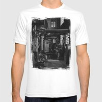 Old Factory 2 Mens Fitted Tee White SMALL