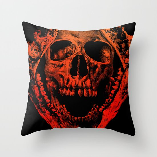 JAWZ2 Throw Pillow