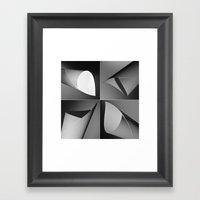 Paper Quad Framed Art Print