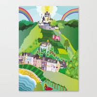Happily Ever After Canvas Print