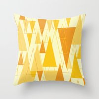 Love Triangle 1 Throw Pillow
