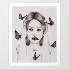 Disease II Art Print