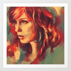 Your girl, she's a renegade. Art Print