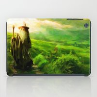 Gandalf's Return - Paint… iPad Case