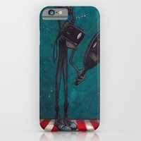 iPhone & iPod Case featuring Self Portrait by Richard J. Bailey