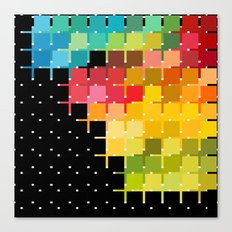 Color Chips Canvas Print