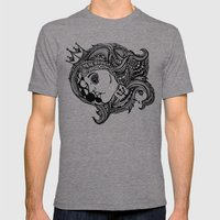 Phases of the Moon, Lady of the Sea Mens Fitted Tee Tri-Grey SMALL