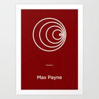 Remedy's Max Payne Art Print