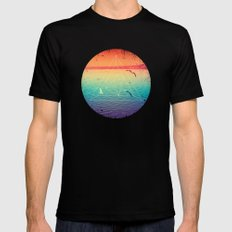 Lapse In Perception SMALL Black Mens Fitted Tee